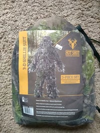Hot shot(3-D Ghillie suit ) 3piece set