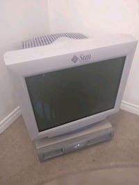 Sun Microsystems Sunblade 100 and Monitor