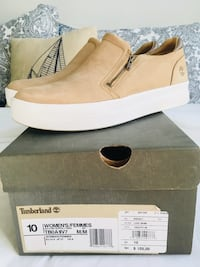 New Price!!!Timberland Slip-on Suede shoes