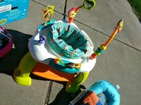 baby's white, blue, and green jumperoo Stockton, 95215
