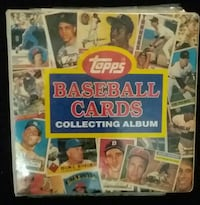TOPPS & UPPER Deck mint cond: card collection!