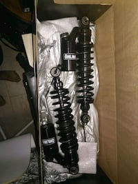 black and gray shock absorbers 3737 km