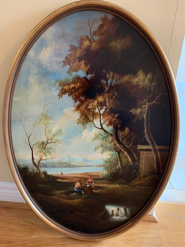 Hand painted landscape 7a140cb9-a6ab-434f-916a-cf044d175bf1