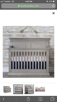 Unopened box, brand new, baby cache Vienna 4-1 convertible crib it cost $499 Potomac, 20854