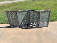 Rustic fireplace screen, room divider Dallas, 28034