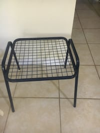 black metal framed folding chair Germantown, 20874