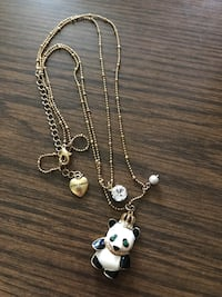 Betsey Johnson necklace $10 Firm