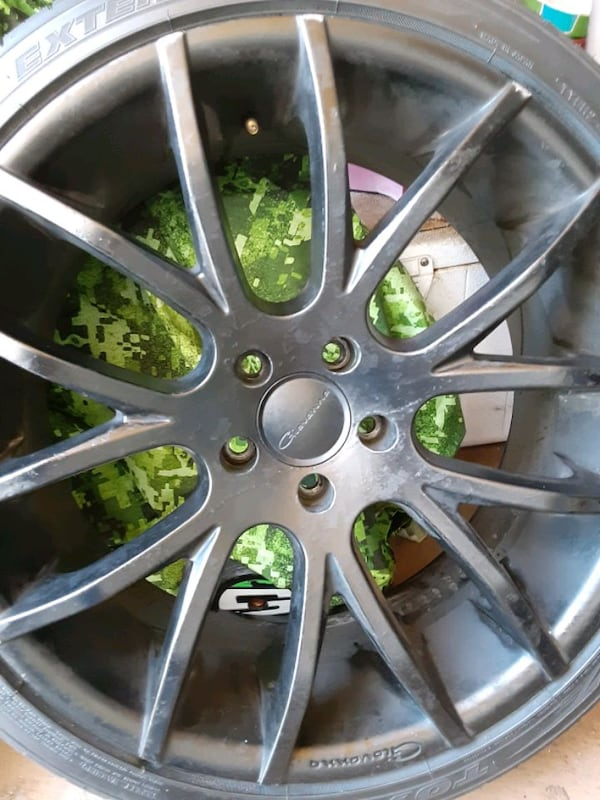 Rims Giovanna 20inch. With tires 5