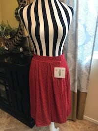 women's red and white sleeveless dress Las Vegas, 89148