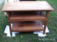 Solid Wood 3 Shelf Table MOBILE