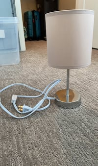 Small desk lamp - beige