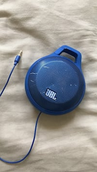 blue JBL portable bluetooth speaker Aldie, 20105