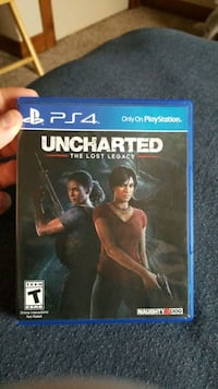 Uncharted lost legacy PS4 Wellington, 80549