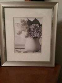 white and brown flower painting with brown wooden frame Ceres, 95307