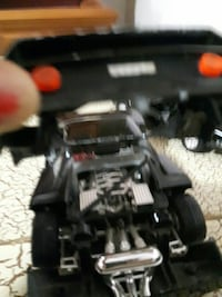 black and gray RC toy car