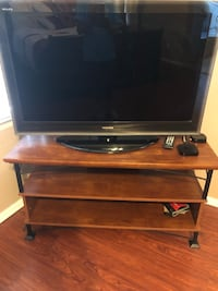 Wood and wrought iron TV stand San Tan Valley, 85143