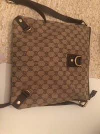 tote bag Gucci monogram marrone e grigio Mantova, 46100