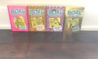 Tween Books: Dork Diaries and Max Crumbly- 8 books