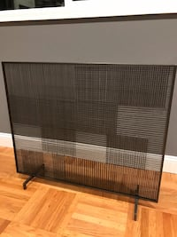 Create & Barrel fireplace screen Millbrae, 94030