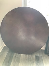 round black wooden table top Arlington, 22202