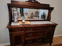 brown wooden dresser with mirror Berkeley, 63134