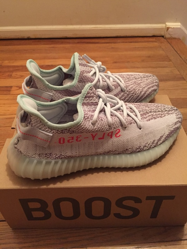 factory price dc682 40268 Used Yeezy Boost 350 v2 Blue Tint for sale in Mount Olive