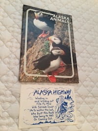 Vintage Estate Alaska Book and Stocker  Surrey