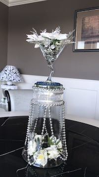 Handcrafted glass centerpiece  Surrey, V4N 5R4