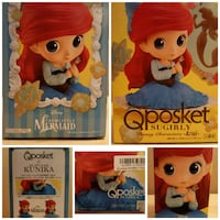The Little Mermaid Ariel Sugirly Q Posket Mission