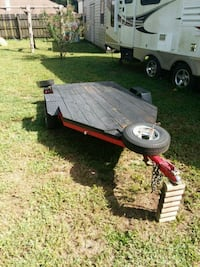 red and white utility trailer Brandon, 33510