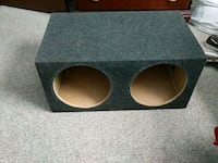black and gray subwoofer 150 obo or trades Chester, 23831