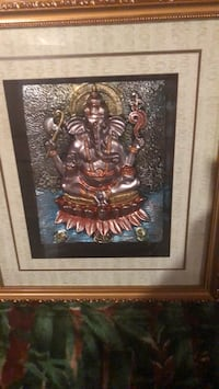 Brown wooden framed wall decor Brampton, L6V 5Z2