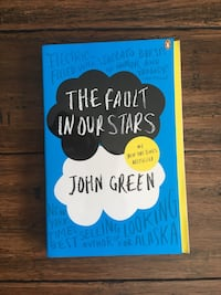 The Fault in our Stars book by John Green Hamilton