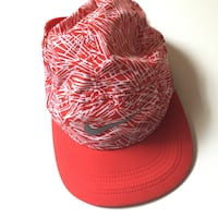 red and white floral cap Fresno, 93740