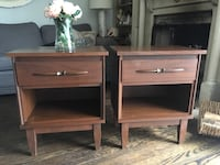 Delivery - pair of mid century night stands  Toronto, M9B 3C6