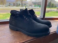 Black Timberland boots Men 9.5 Falls Church, 22043