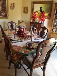 Dinner table with 6 chairs , w/ China  Lawrenceville, 30044