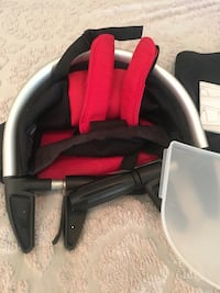 Phil&Teds Clip on high chair red