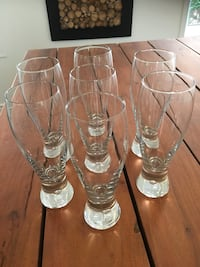 Beautiful Beer Glasses (set of 7) Mississauga, L4Z 4A1