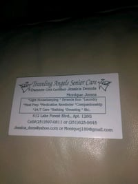 Let us care for you/Caregiver Mobile, 36606
