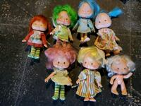 Lot of 9 Vintage Strawberry Shortcake dolls Hanover, 17331