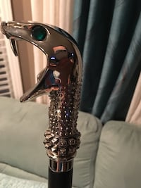 Cane - solid Chrome snake head 3.5ft Calgary, T2Y 3R8