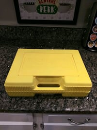 K'Nex Yellow storage carrying travel case