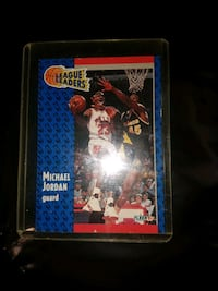 Michael Jordan Player Card Kitchener, N2E 3Z9