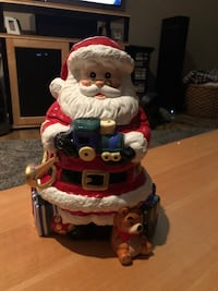 Porcelain Santa cookie jar Clackamas, 97015