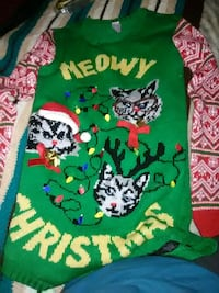Sweater christmas small 10.00 obo Hagerstown