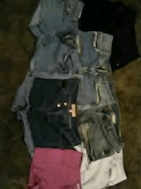 Shorts size 1 through 5 but the 5s fit small  Waco, 76711