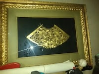 gold painting frame Shallowater, 79363