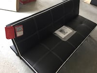 black leather padded ottoman chair Toms River, 08755