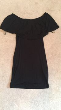 Forever 21 black off the shoulder dress Mississauga, L5B 0E2